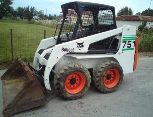 Bobcat 751 Skid Steer Loader Service Repair Manual DOWNLOAD (S/N 514711001 , 514911001 & Above)