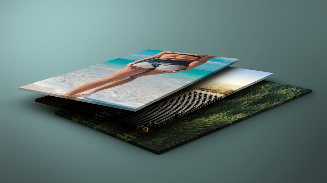 Perspective Photoshop Mockup [FREE FOR COMERCIAL USE]