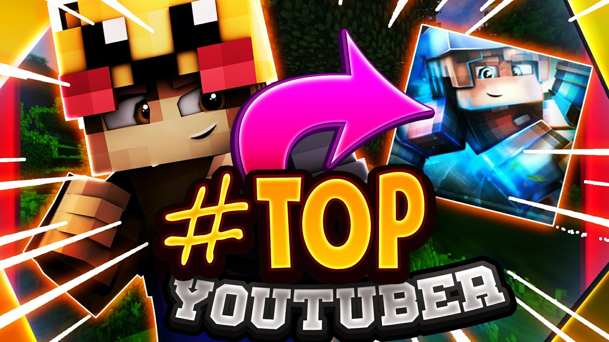 EPIC MINECRAFT THUMBNAIL BY MAYD   2D or 3D (OPEN)