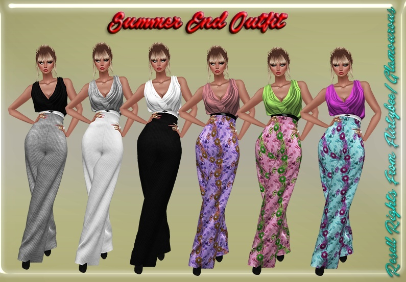 Summer's End Outfit Resell Rights!!!