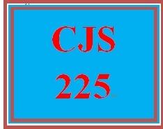 CJS 225 Week 5 Technology Presentation