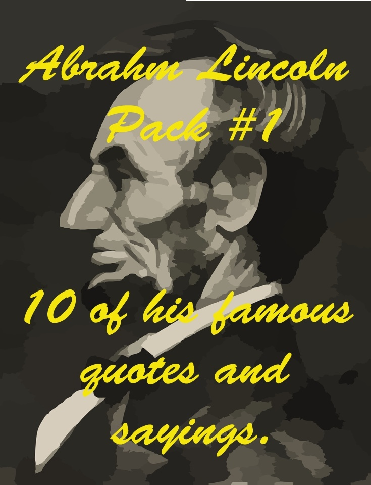 Abraham Lincoln 1st Pack
