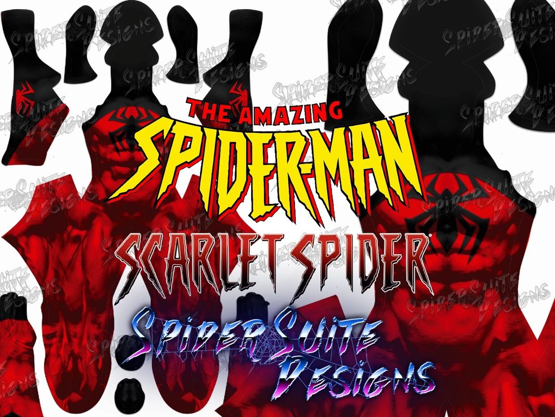 Kaine Scarlet Spiderman 2017 Pattern
