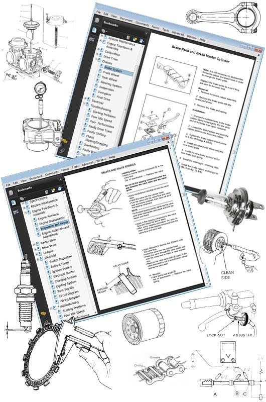 Honda CB750 Nighthawk Service Repair Workshop Manual 1991-2003