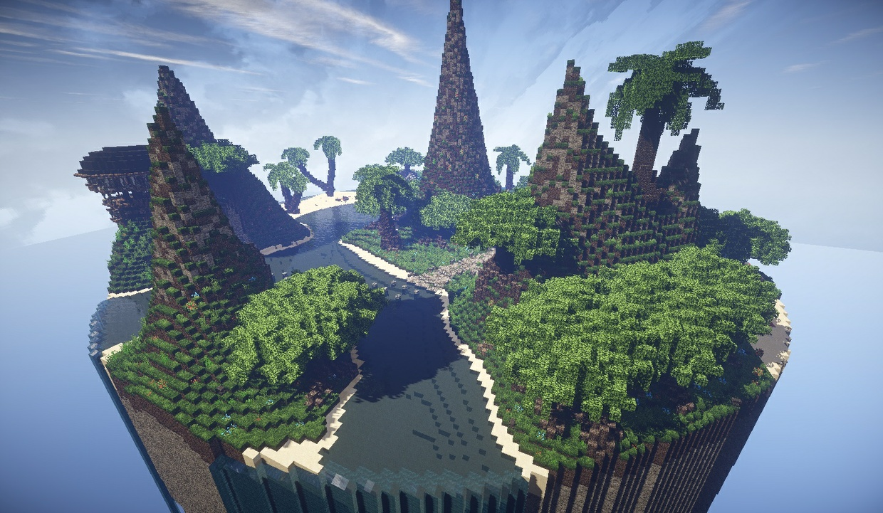 Minecraft Hub - Tropical
