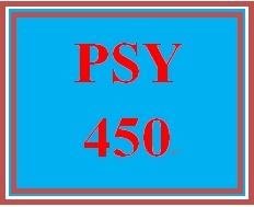 PSY 450 Week 2 Training Abstracts Assignment