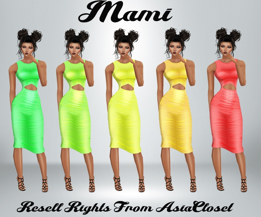 Mami Dress Catty Only!!!