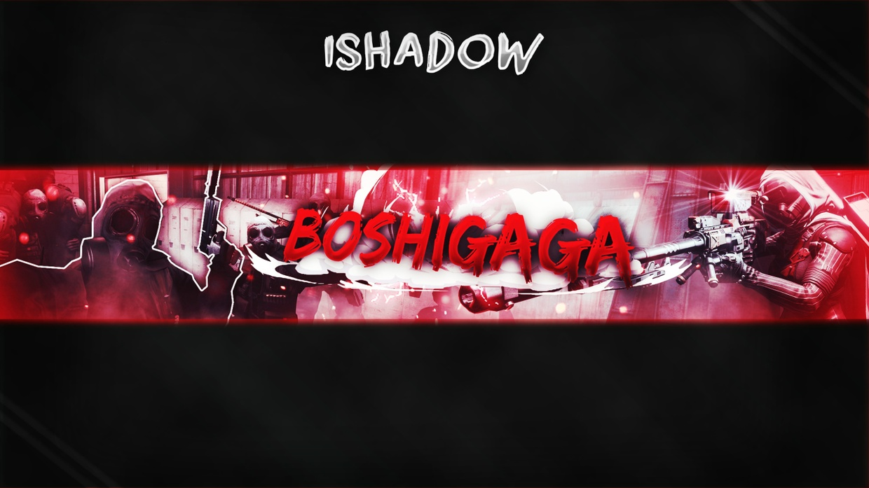 Gaming Banner **if you want speedart pay 7$**