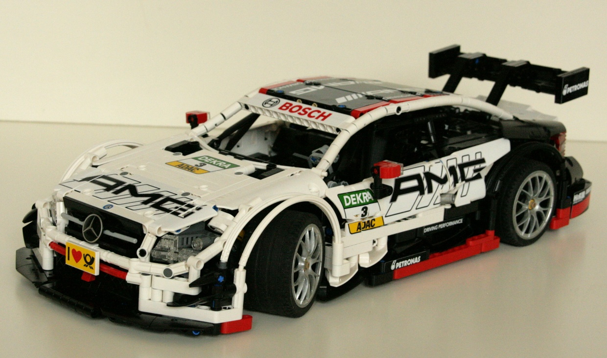 lego technic mercedes id e d 39 image de voiture. Black Bedroom Furniture Sets. Home Design Ideas
