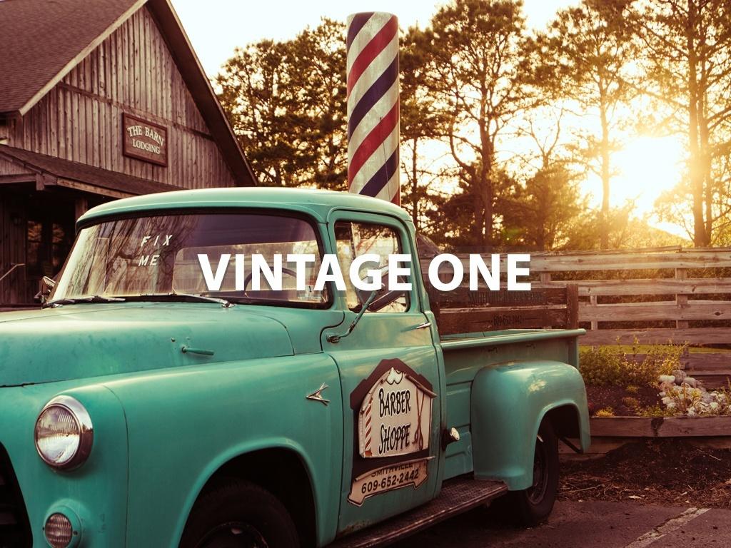 """Vintage One"" - Lightroom Preset"