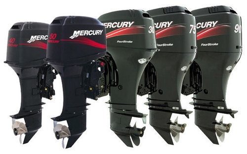 Mercury Mariner 50hp-60hp (4-Stroke) Outboards Factory Service Manual (Year 2001 and Newer )