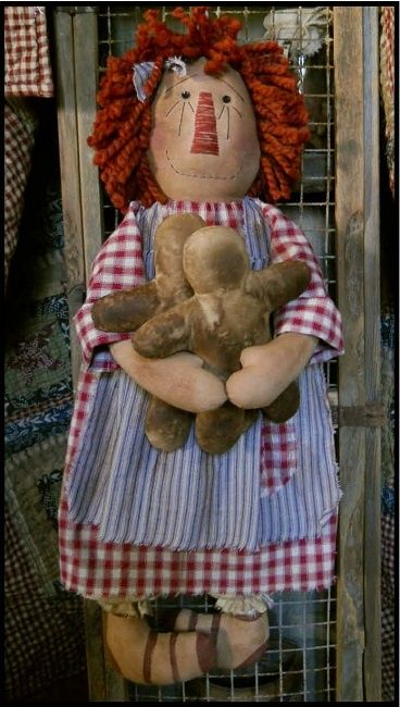 #323 annies gingerbread man e pattern