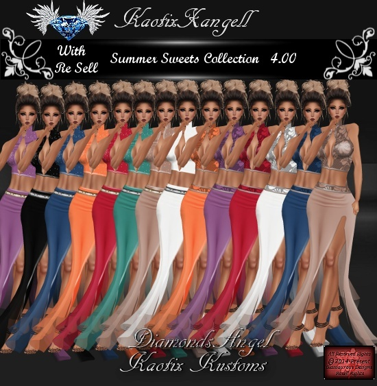 Summer Sweets Collection WITH RE SELL