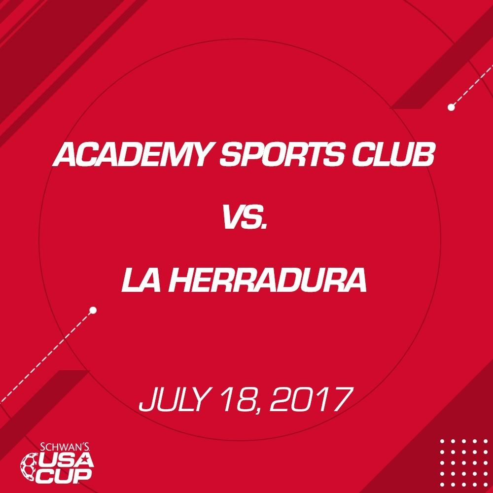 Boys U12 - July 18, 2017 - Academy Sports Club vs La Herradura