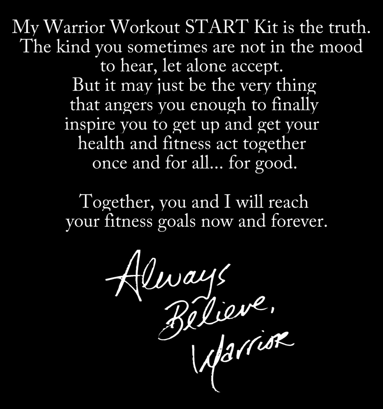 Ultimate Creations - Warrior Workout Start Kit