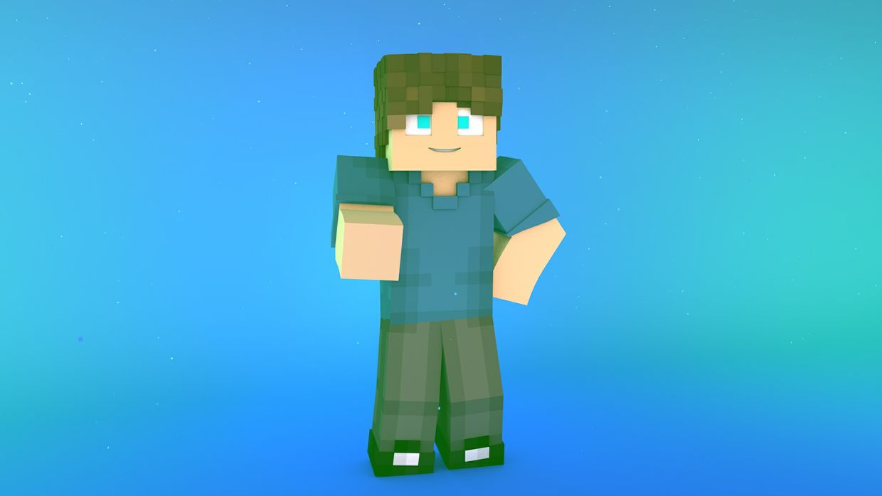 Minecraft Lightroom Render