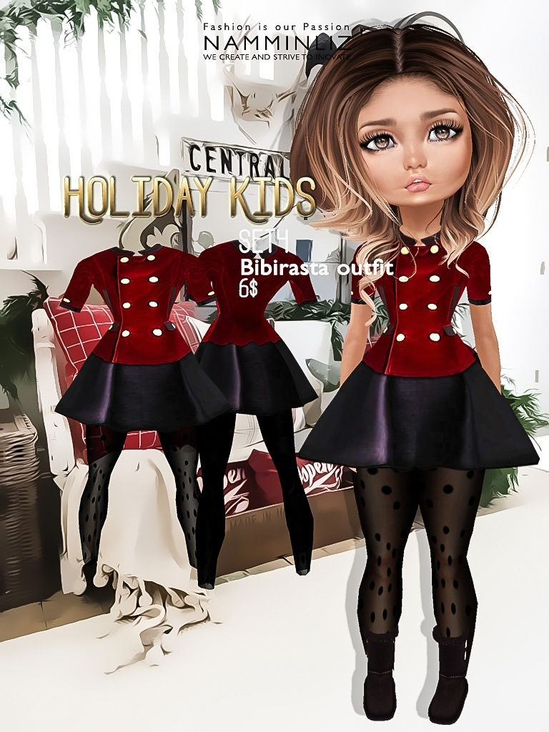 Holiday Kids Set4 imvu texture JPG bibirasta outfit NAMMINLIZ filesale