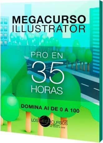 """Megacurso de Illustrator """"Pro en 35h"""" - OFERTA"""