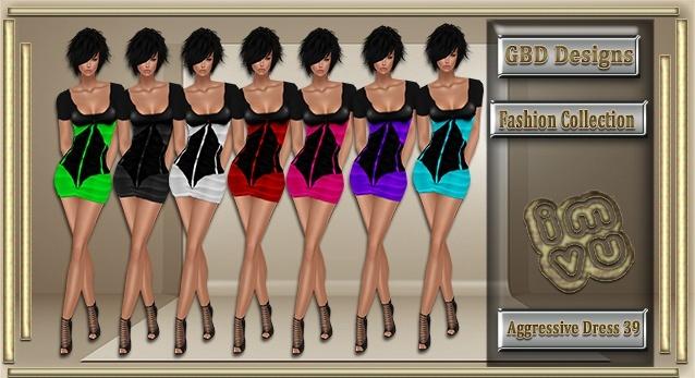 Aggressive Dress 39 CATALOG ONLY!!
