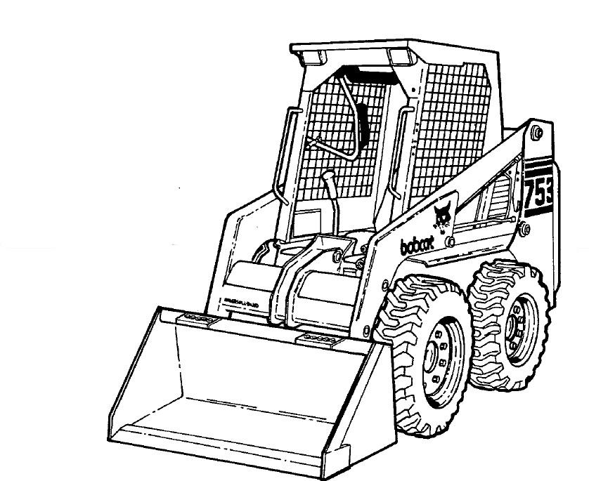 Bobcat 753 Loader Service Repair Manual Download 2