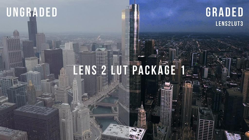 Lens2LUT Preset Package 1 (5 LUTs)