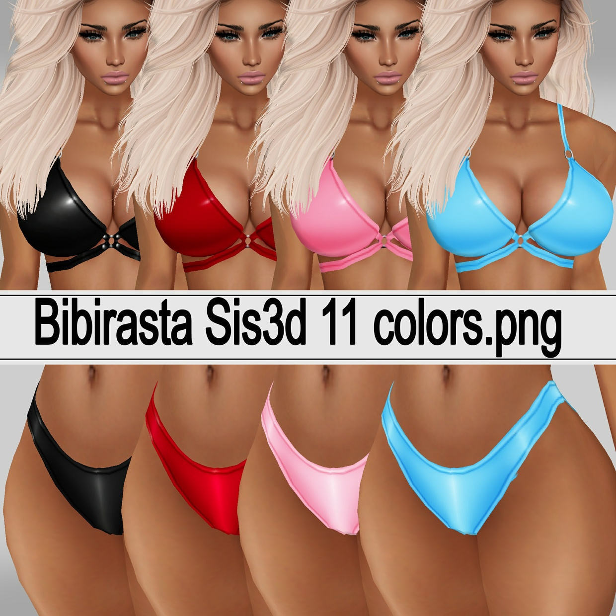 Bikini Top & Bottoms 11 color textures.png LIMITED