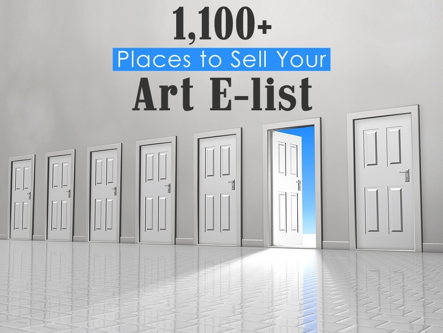 1 100 places to sell your art artistresources for Sites to sell art