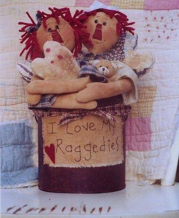 #250 Raggedy Bucket e pattern