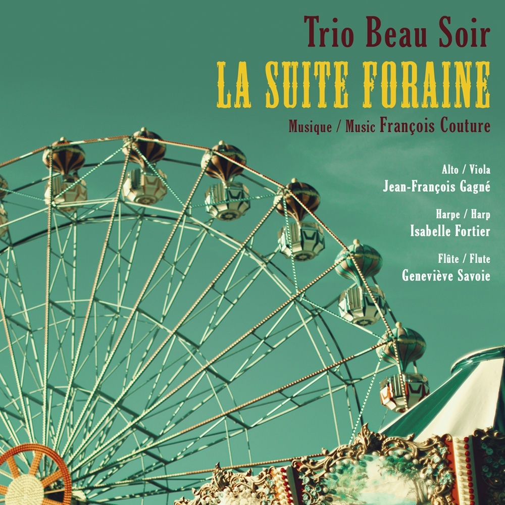 LA SUITE FORAINE - TRIO BEAU SOIR (partitions)