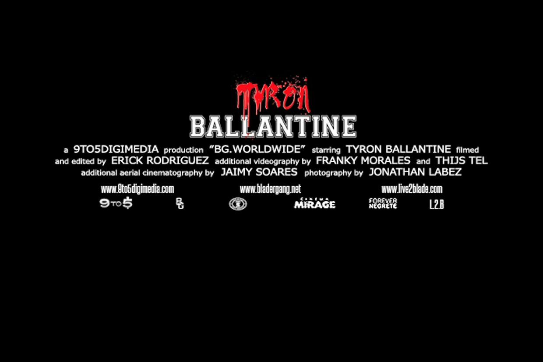 Tyrone Ballantine - BG.Worldwide Profile Section