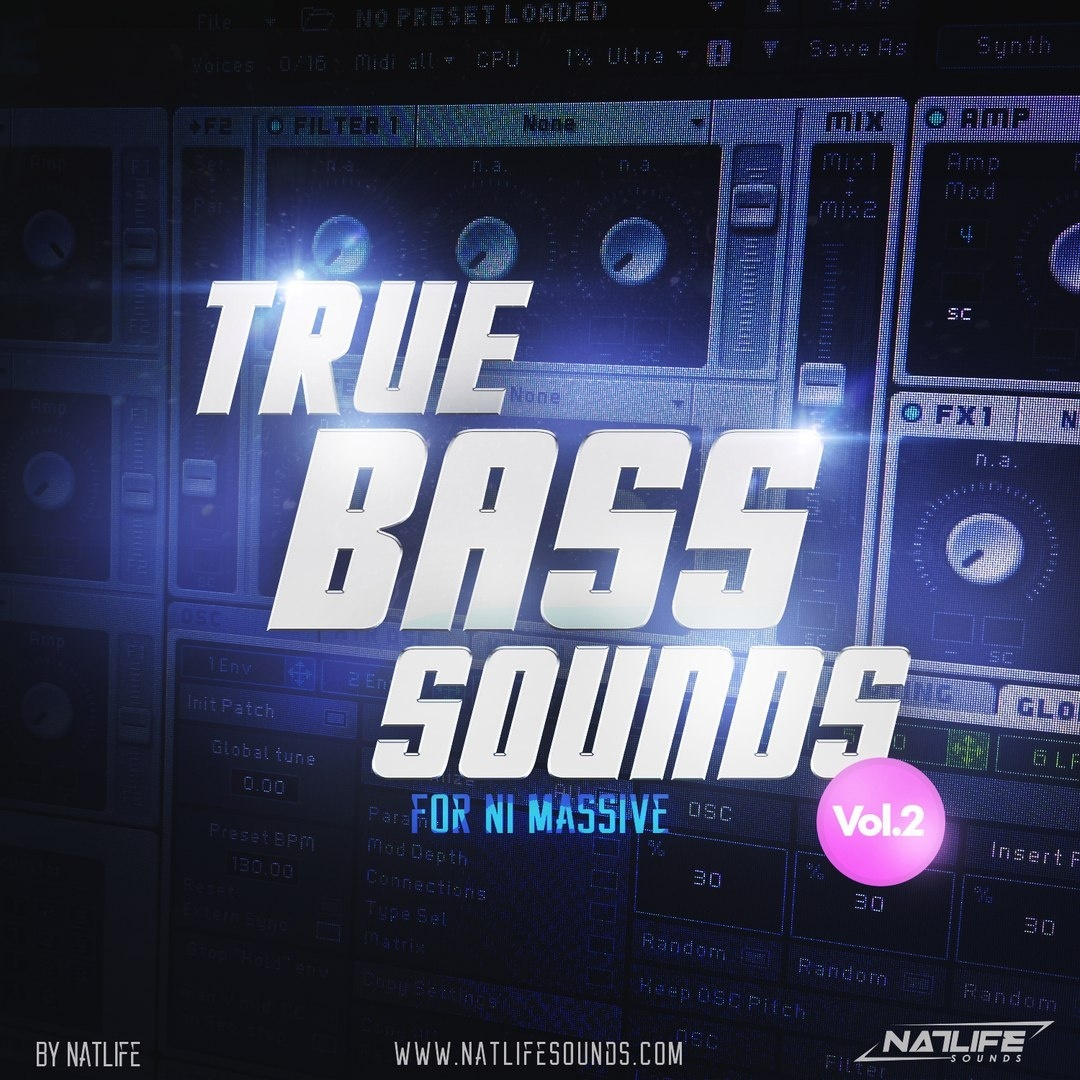True Bass Sounds Vol.2 for NI Massive
