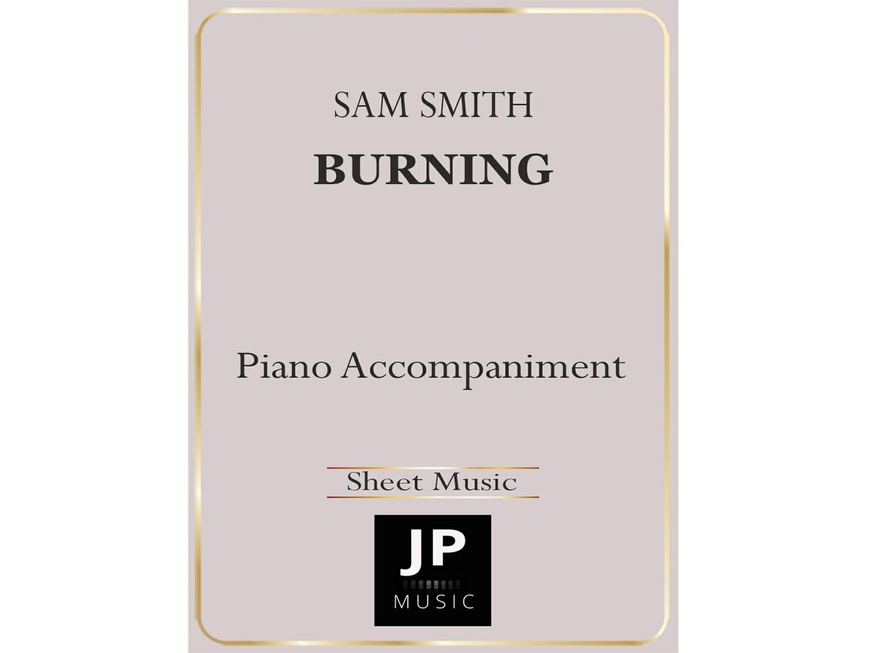Burning - Piano Accompaniment