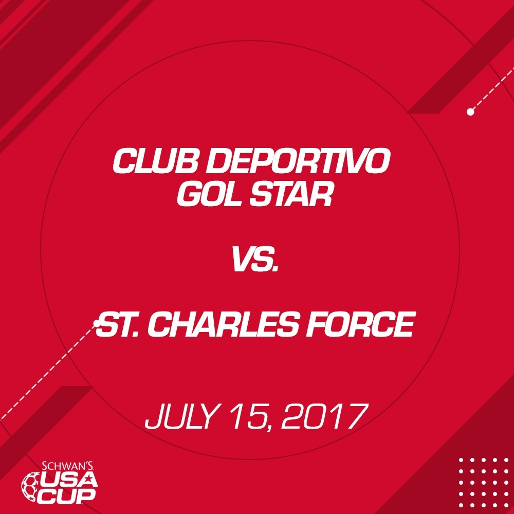Girls U14 - July 15, 2017 - Club Deportivo Gol Star V. St. Charles Force