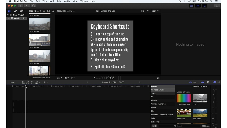 How I Edit - Final Cut Pro X Beginner Guide