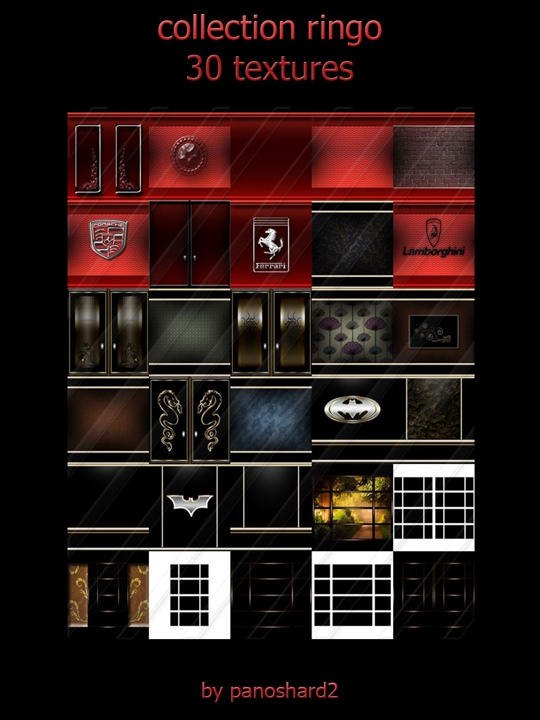 collection ringo 30 textures room imvu