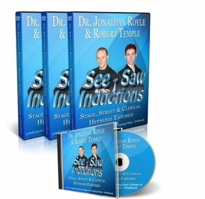 ROBERT TEMPLES SEE-SAW INDUCTION  &  COMEDY HYPNOSIS COURSE