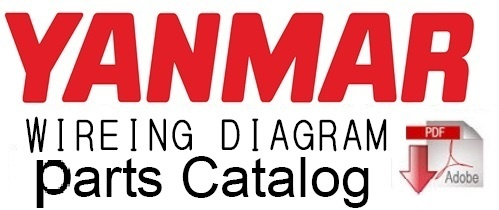 Yanmar B50W & B50W-1 Wheel Excavator  Parts Catalog Manual