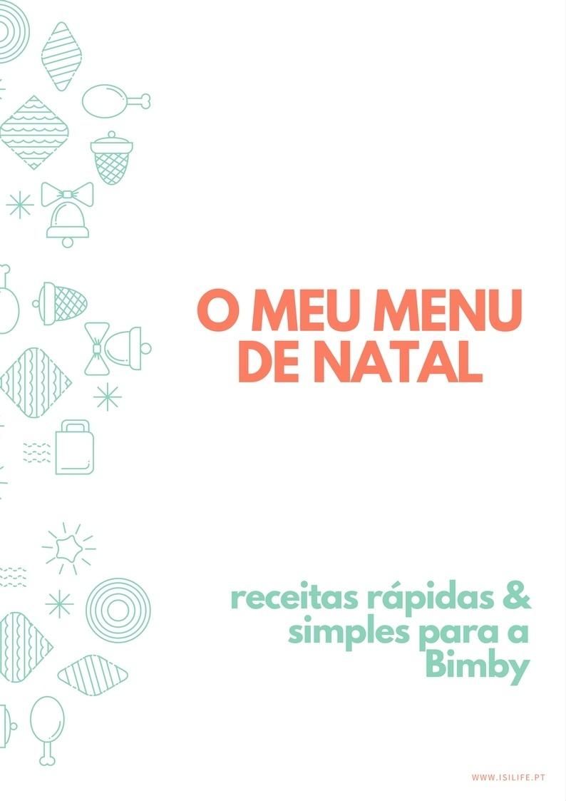 """Ebook """"O meu menu de Natal"""" by Isi Life"""