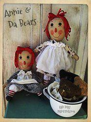 Annie and Da Bears ePattern