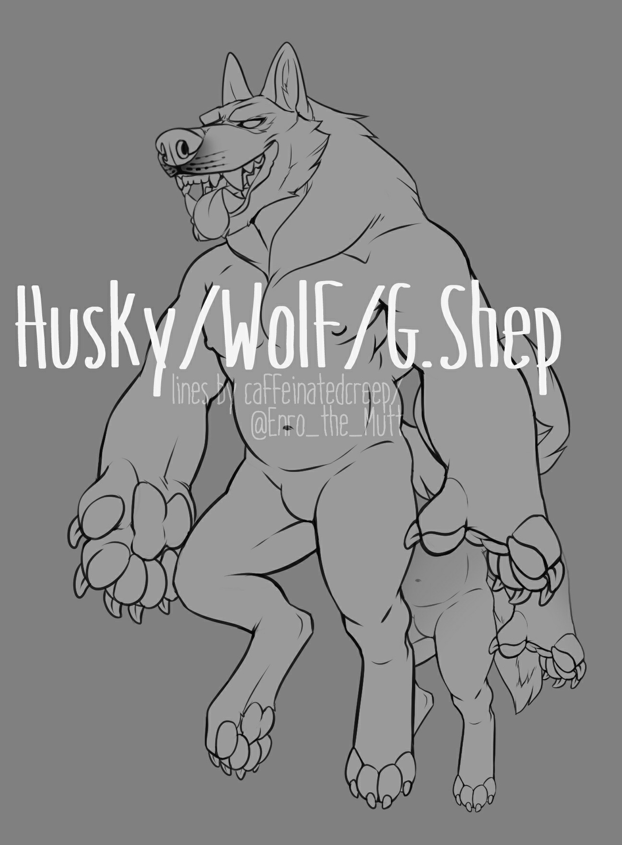 Husky/Wolf/G. Shep/Malamute/Shiba base