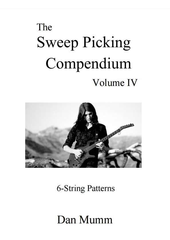The Sweep Picking Compendium - Volume 4 - 6-String Patterns - PDF eBook and 50 Guitar Pro Tabs