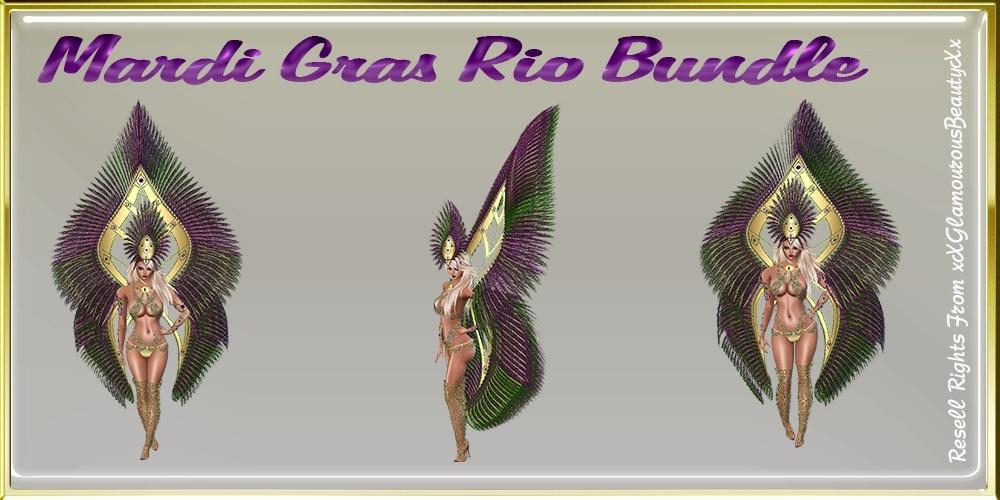 Mardi Gras Rio Bundle Master Resell Rights!!!