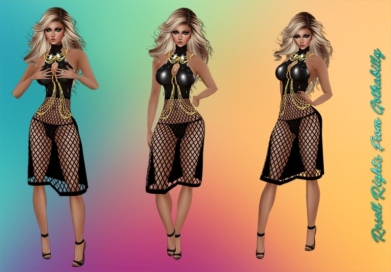 Black Crush Dress Exclusive Catty Only!!!!!
