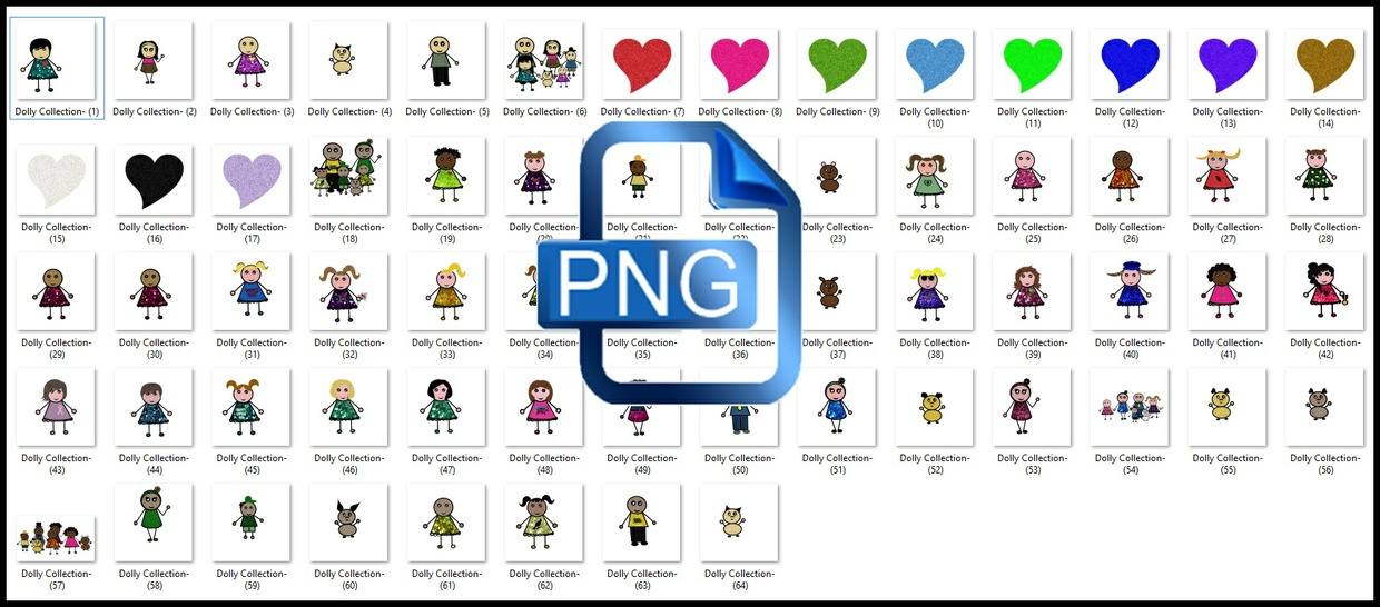 Png Dolly Doll Collection