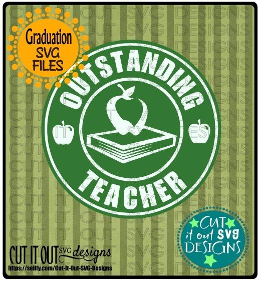 Outstanding Teacher Starbucks Logo Design 2