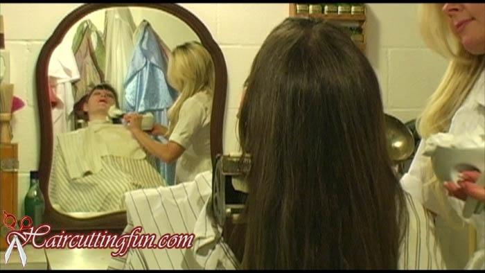 Celia's Face Shave by Barberette - VOD Digital Video on Demand