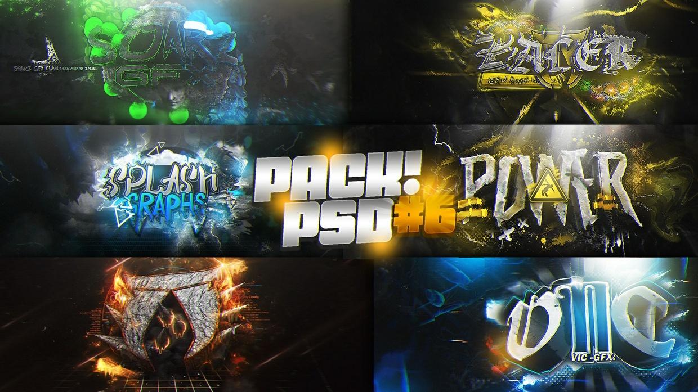 PSD PACK #6!