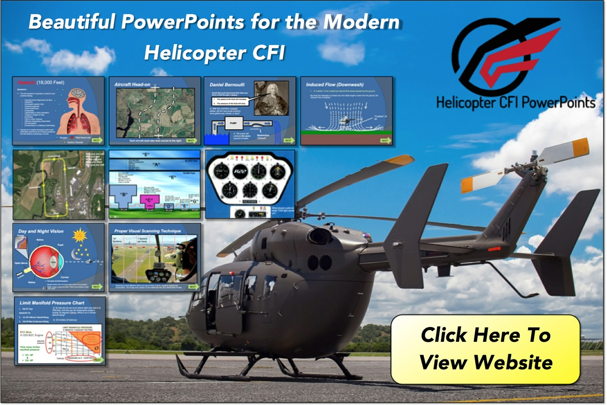 Helicopter CFi Lesson Plans (Full)