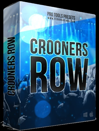 Crooners Row (Singers Template)Pro Tools Template