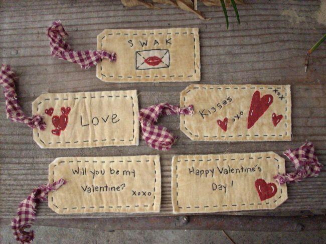 #13 Valentine Tags E Pattern